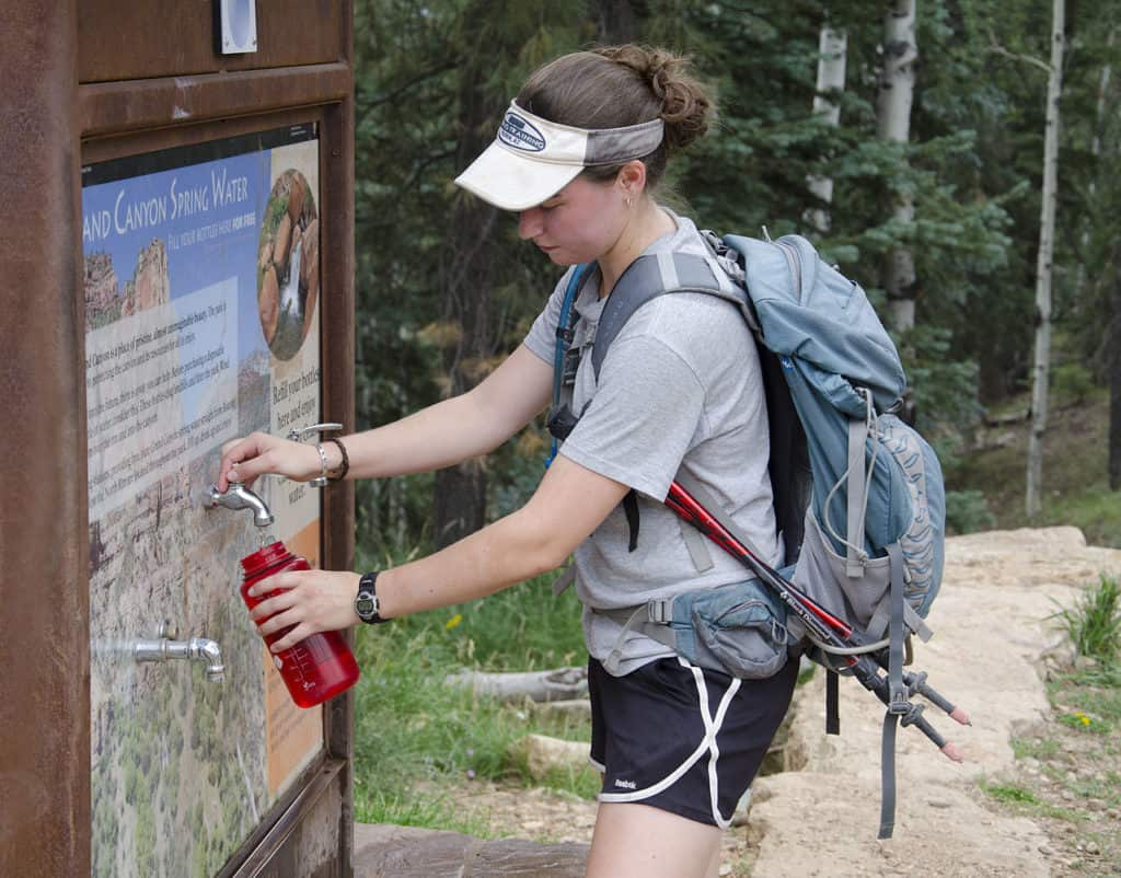 national park water station