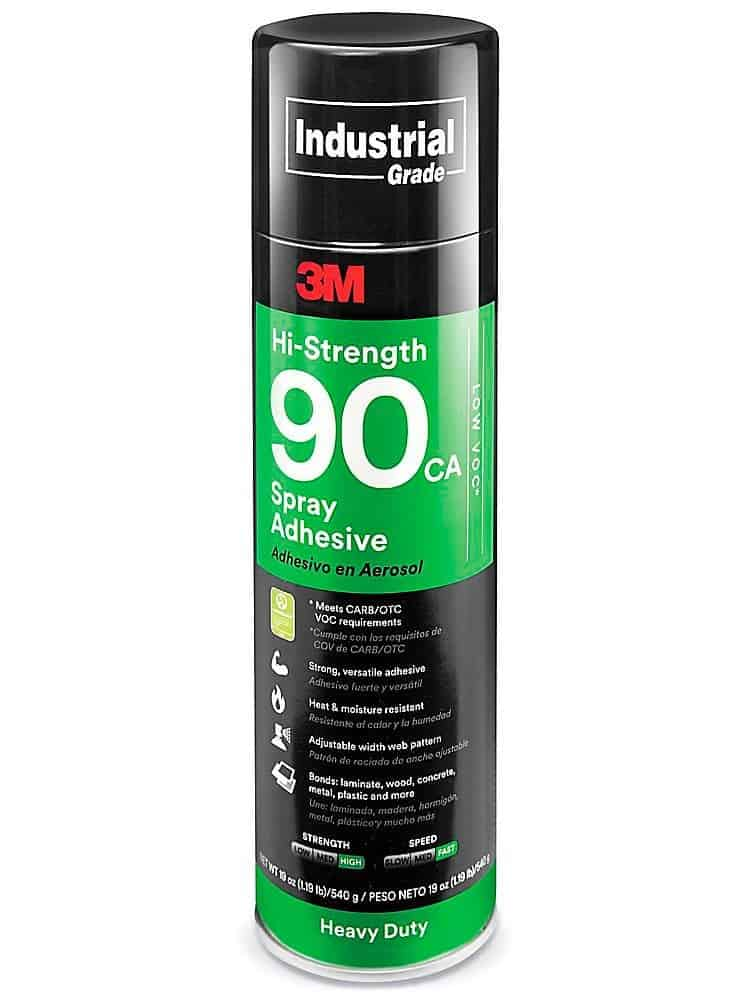 3m industrial spay adhesive